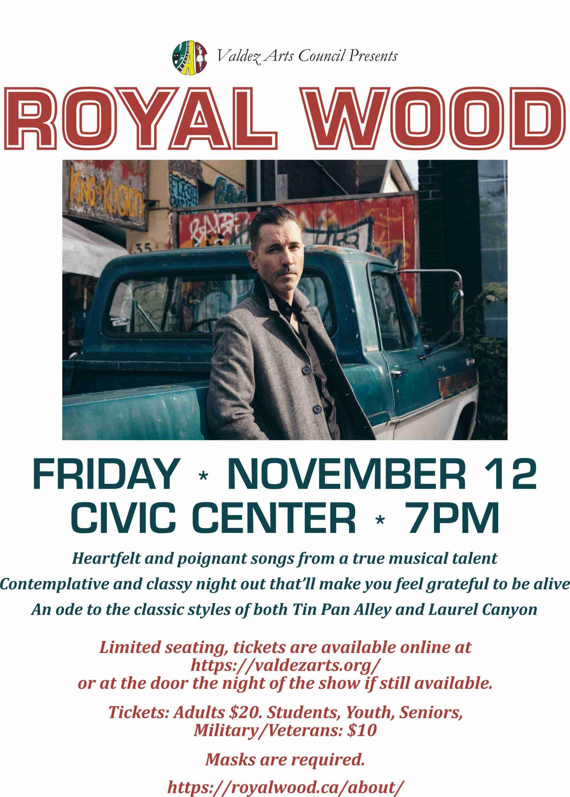 Royal Wood flyer